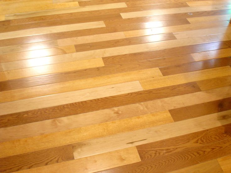 Two Tone Hardwood Floors Flooring Types Pinterest