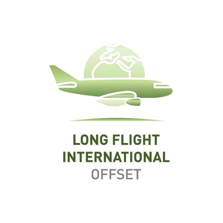 Offset the emissions of a long international flight    Greenfleet will plant enough native trees to capture 9.9 tonnes CO2-e, the average emissions produced by one long international flight.    Visit http://www.greenfleet.com.au/PurchaseOffset/tabid/132/CatID/2/Individual.aspx
