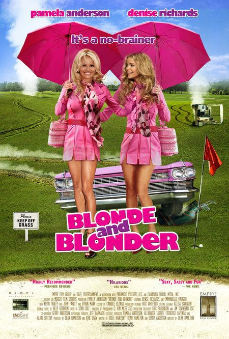 Blonde and Blonder , starring Pamela Anderson, Denise Richards, Emmanuelle Vaugier, Meghan Ory. Comic mayhem ensues when two lovely blondes, Dee and Dawn, are mistaken as international mob killers. #Comedy #Crime