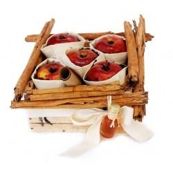 Las manzanas del amor. navidad.