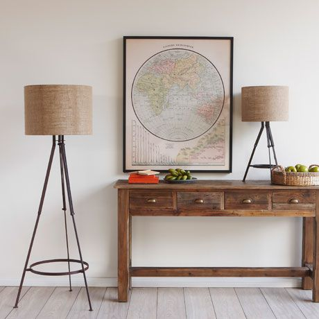 Freedom Furniture - Horden and Farmhouse Horden Tripod Floor Lamp