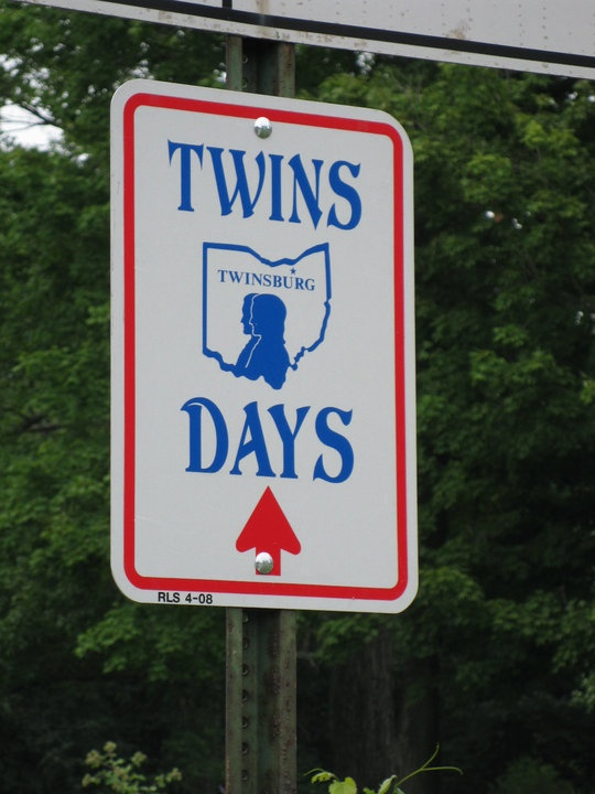 Twinsburg, Ohio during the Twins Days Festival