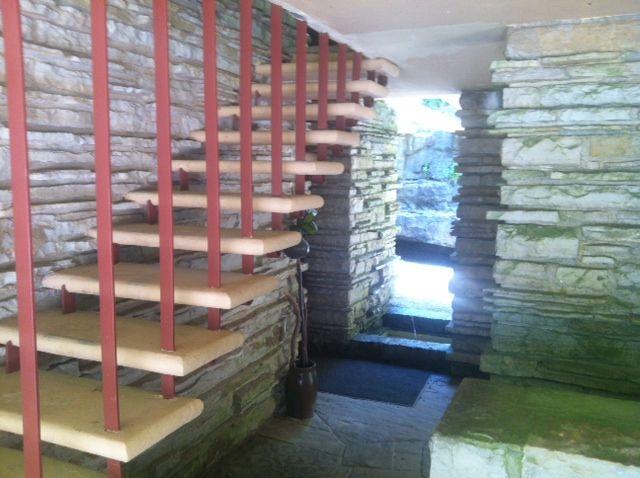 Fallingwater Frank Lloyd Wright Pinterest