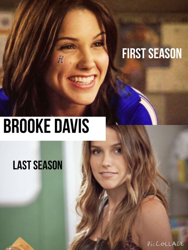 Heyyy, Brooke is such a strong kind hearted mature childish women the show wouldn't be the same without her and no matter how much she changed over 9 seasons she was still all those things in the last season   I made this edit myself so please give credit if you use it