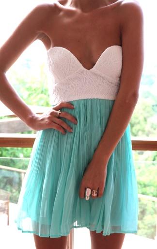 So adorableColors Combos, Summer Dresses, Spring Dresses, Style, Blue, Cute Dresses, Tea Dresses, Mint Tea, The Dresses