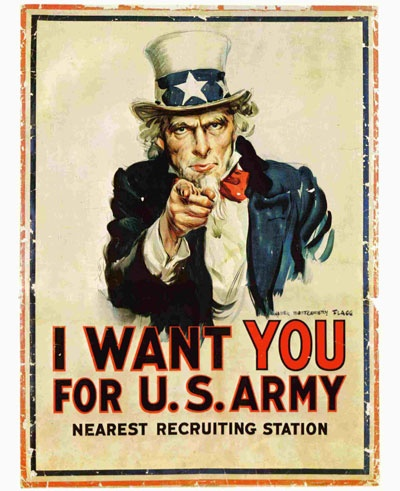 acheter I Want You For US Army -- Military persuasion to join and support your country! Uncle Sam wants you!