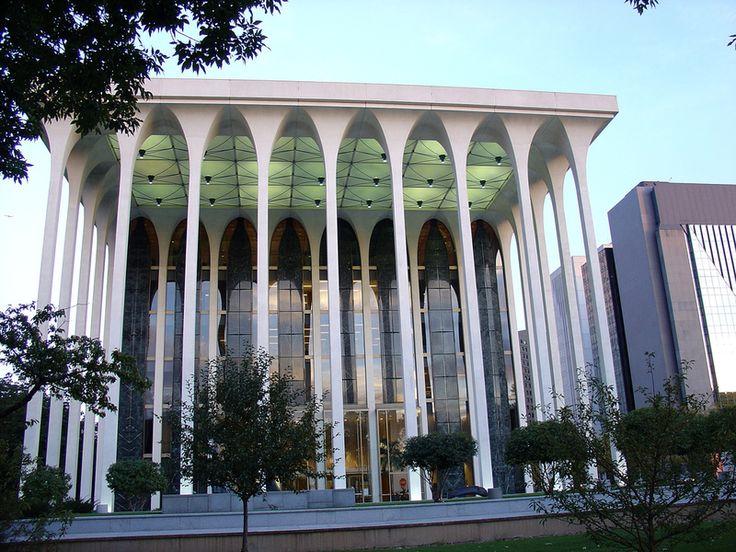 38 best minoru yamasaki architect images on pinterest for Detroit architectes