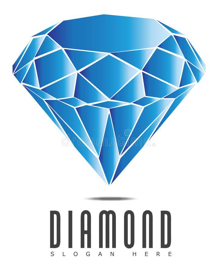 Diamond Logo Creative Logo Of A Blue Diamond Sponsored Creative Logo Diamond Diamond Blue Ad Diamond Logo Diamond Graphic Design Logo