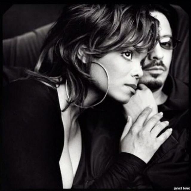 Janet Jackson and Renee Elizando