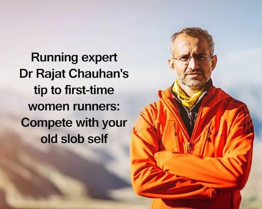 Running expert Dr. Rajat Chauhan's tip to first-time women runners. Here is everything you need to know: http://bit.ly/2fFKc2j || http://j.mp/AmazonUKFuturepaceTech750ml || #FuturepaceTech #waterbottle #insulatedwaterbottle #stainlesssteelwaterbottle #outdoors #activelifestyle
