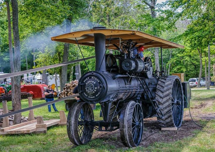 Antique Tractors In Ohio : Best images about traction engines on pinterest old