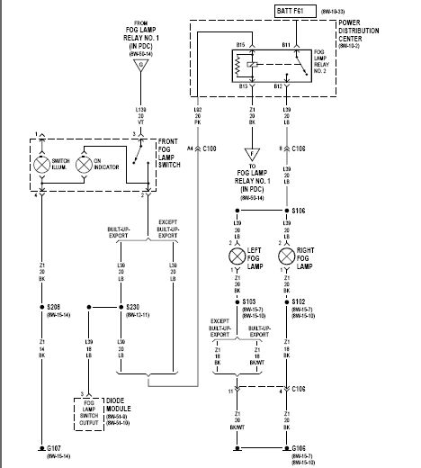 Plymouth Fog Lights Wiring Diagram : Fog light wiring diagram automotive pinterest lights