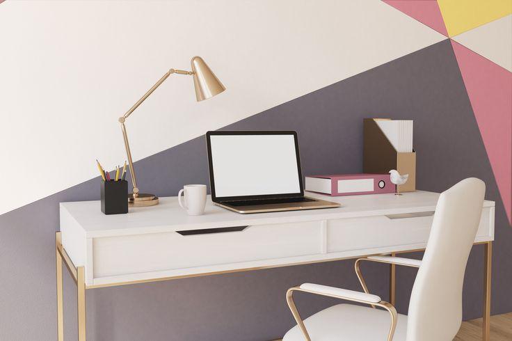 Założyłeś własną firmę i poszukujesz pomysłów na wystrój domowego biura,  które na co dzień będą inspirować Cię do pracy? Idealnym rozwiązaniem są  kolorowe wzory na ścianie. Będą pobudzać kreatywność, stanowiąc zarazem oryginalną dekorację domu. Na dodatek możesz je szybko wykonać za pomocą testerów koloru. Przekonaj się, jakie to łatwe!
