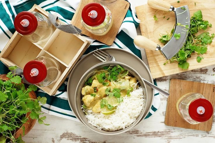 Magda Kucharzy: Tajskie zielone curry z kurczakiem
