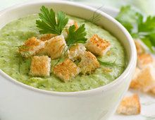 Zuppa di zucchine e banana, ricetta Zuppa di zucchine e banana - alfemminile.com