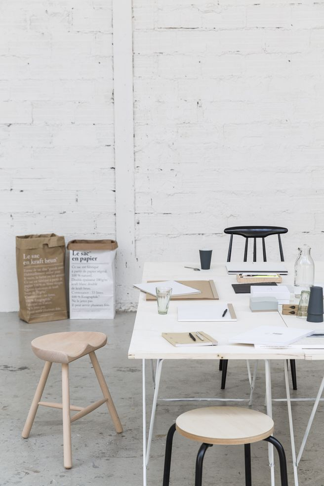 ** Papeterie pour recevoir ** SLOW OFFICE concept DA et stylisme : Elsa Le Saux Photo : Romain Ricard Edition 2015