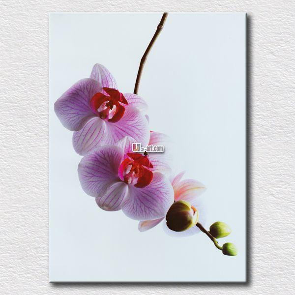 Каллиграфия розовые цветы живопись простой краски стены искусства для украшения дома хороший подарок для друзей