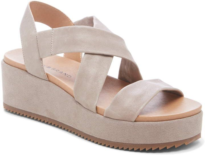 aa3fb5d30ad Lucky Brand Waldyna Wedge Platform Sandal in 2019 | Products | Wedge ...