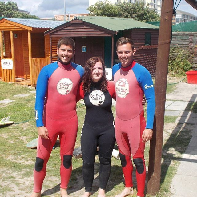 Our surfing staff and volunteers are keen to start Term 4 surf lessons at our projects in Cape Town, South Africa!  #gvi #teachabroad #surfsup