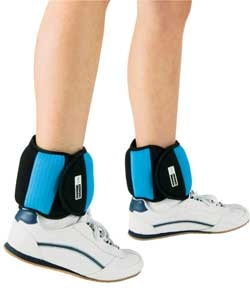 Ankle weights workout idea