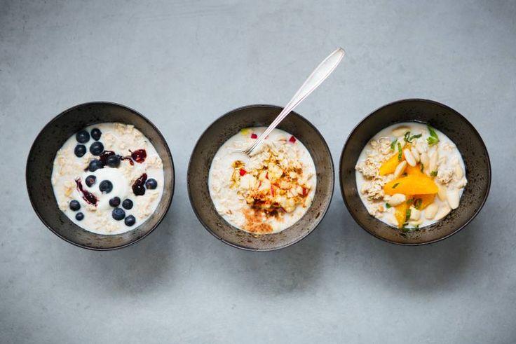 Kijk wat een lekker recept ik heb gevonden op Allerhande! Overnight oats