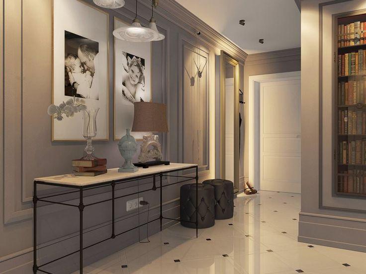 Роскошный интерьер 4-комнатной квартиры в стиле лофт