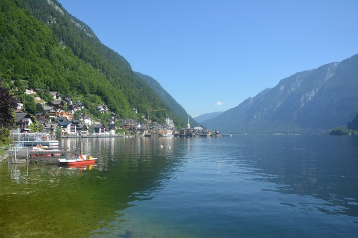 Hallstatt. Beautiful and even though known, forgotten village in Alps. Author-Tereza Večerková
