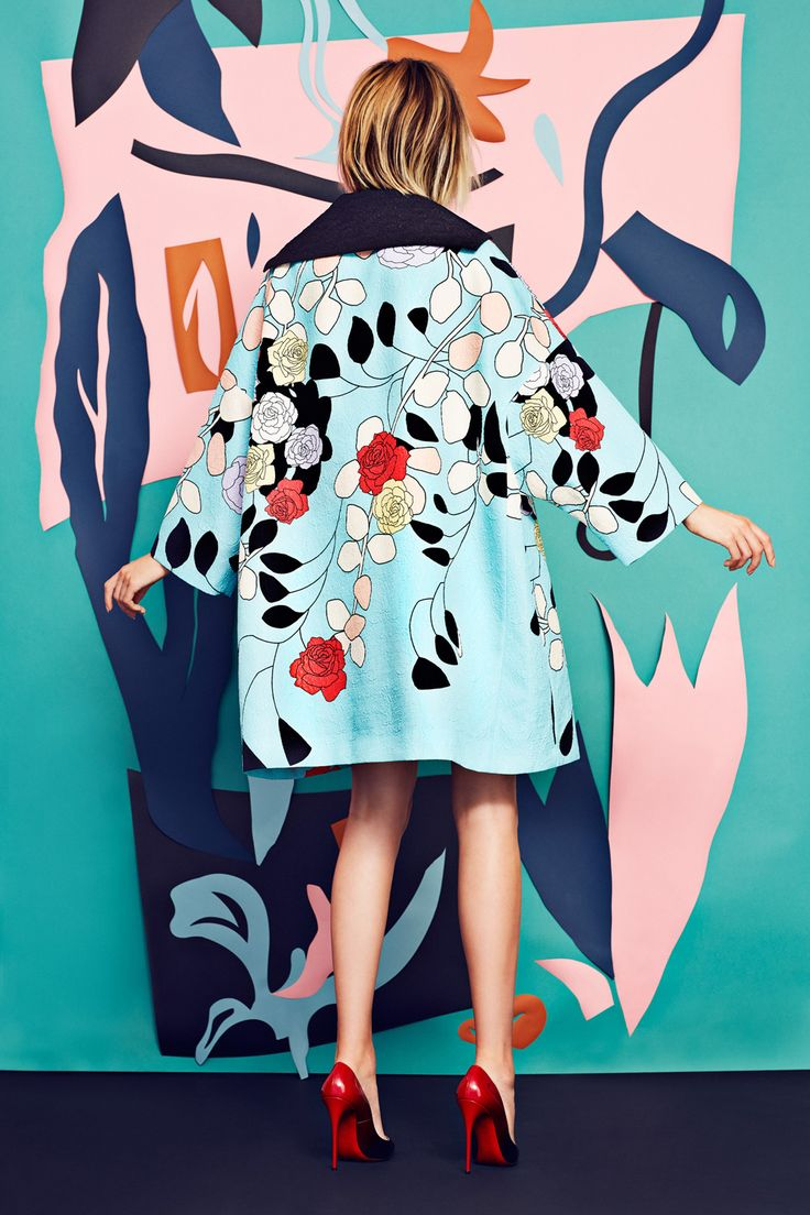 Blooming Bold for WWD on Behance
