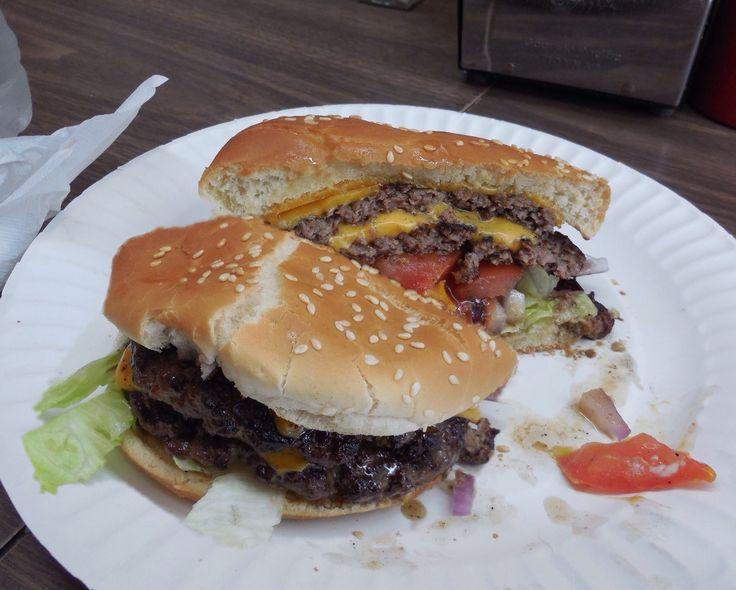 Double Cheeseburger - Sam's - North Beach - San Francisco, CA
