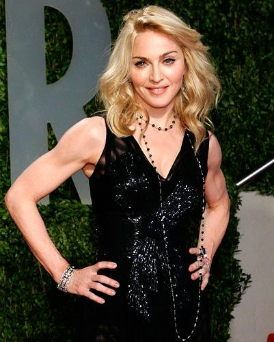 Madonna sexy arms and love her on pinterest