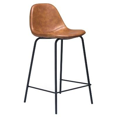 25 Best Ideas About Leather Counter Stools On Pinterest