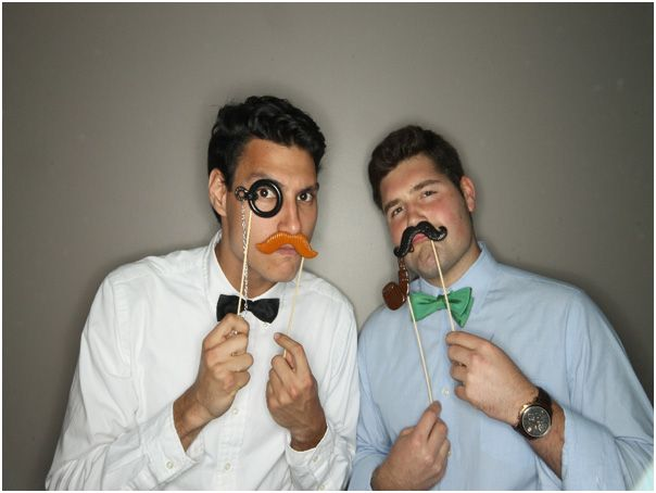 Fun photo booth props that make awesome memories