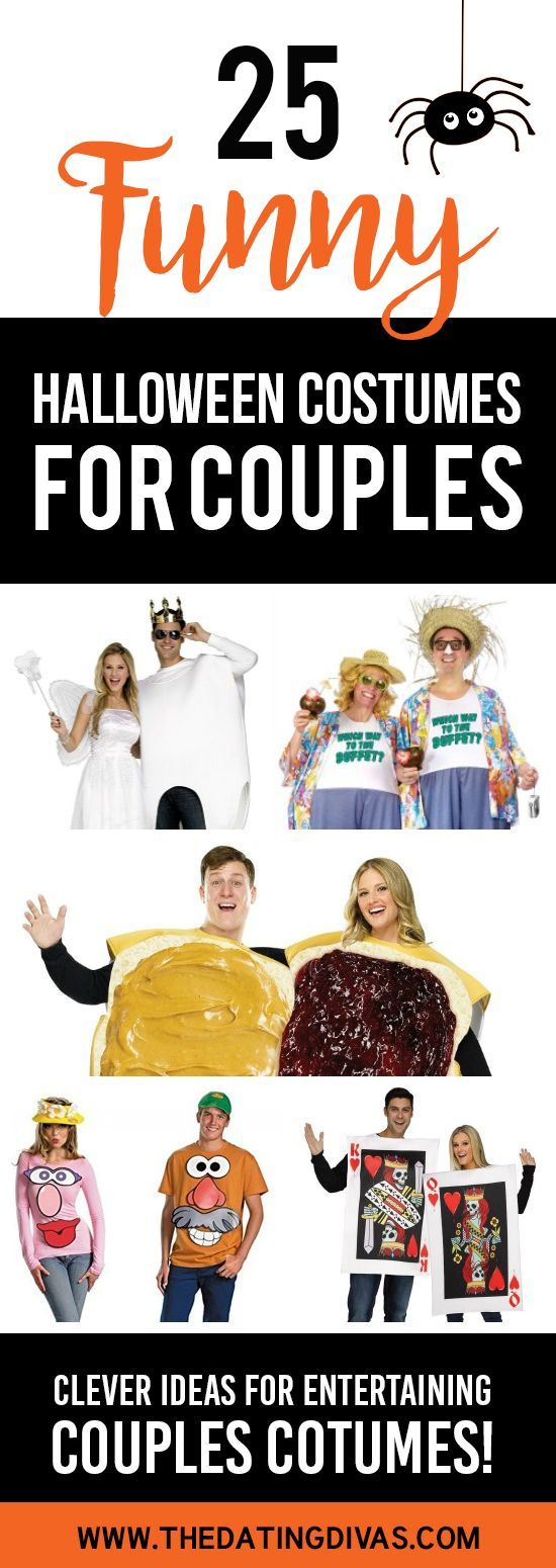 25 Funny Couples Halloween Costumes. So many cute and fun ideas to pick from!