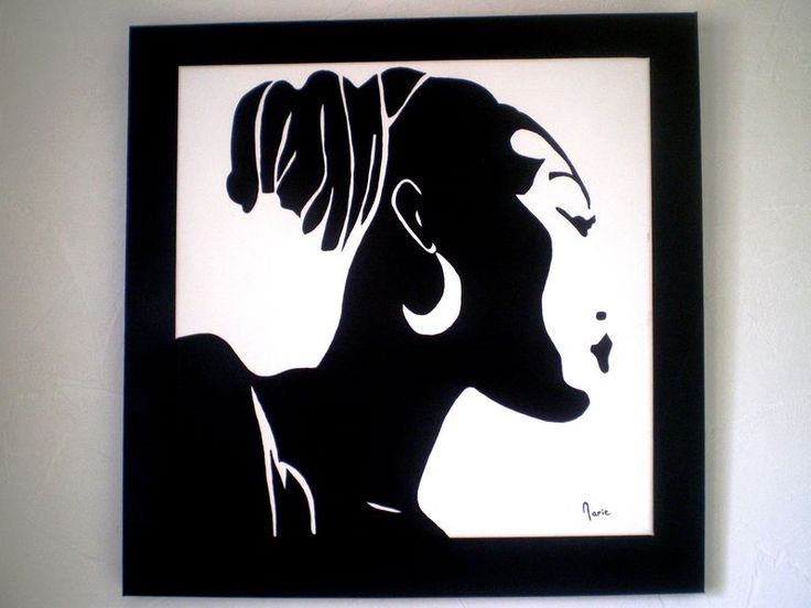 N° 48 silhouette africaine