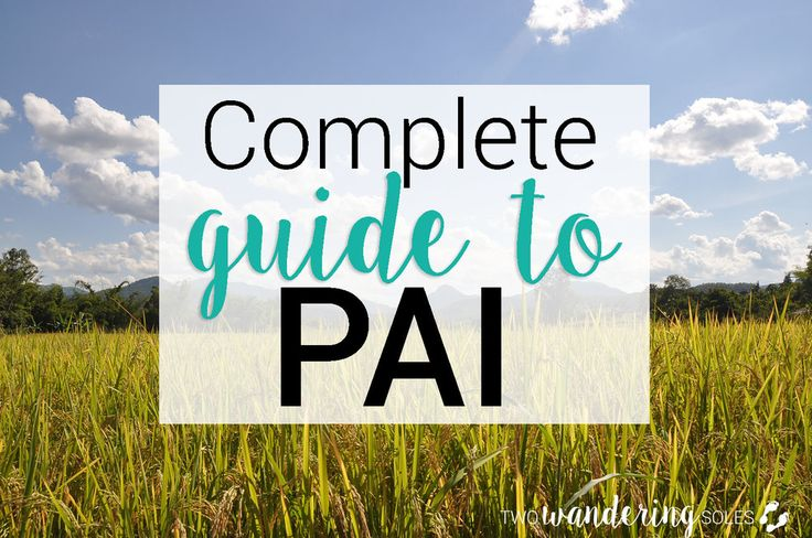 If you love waterfalls, hot springs, mountains, and the occasional (or frequent) cocktail, Pai is likely on your Thailand itinerary. We've put together a complete guide with all the tips and things you need to know before heading to Pai. Continue reading to find out what to do (including some lesser-known gems), what not to do, and where to find the best grub!