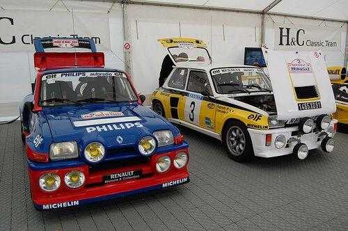 Renault Maxi Rally Cars
