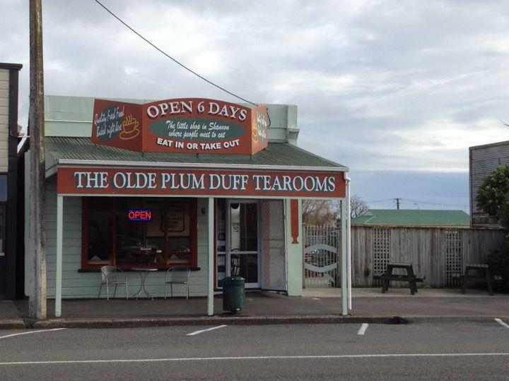 The Olde Plum Duff Tearooms