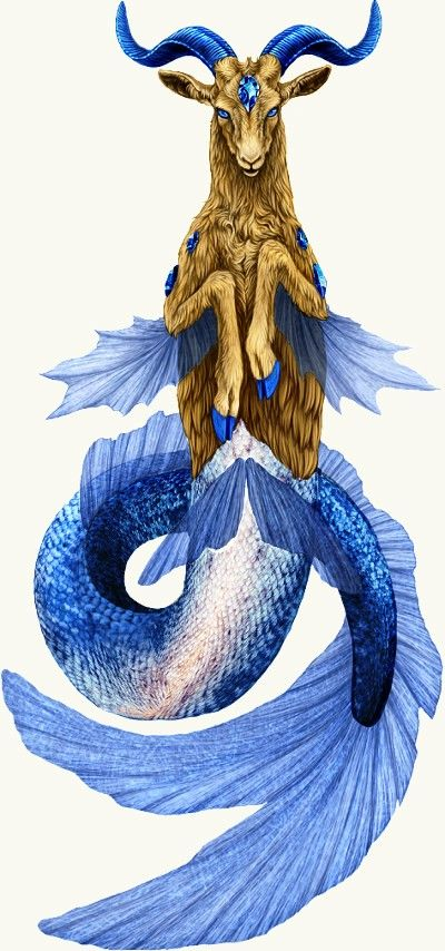this would make a great capricorn tattoo