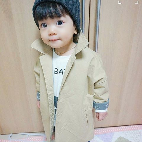 Korean toddler boy