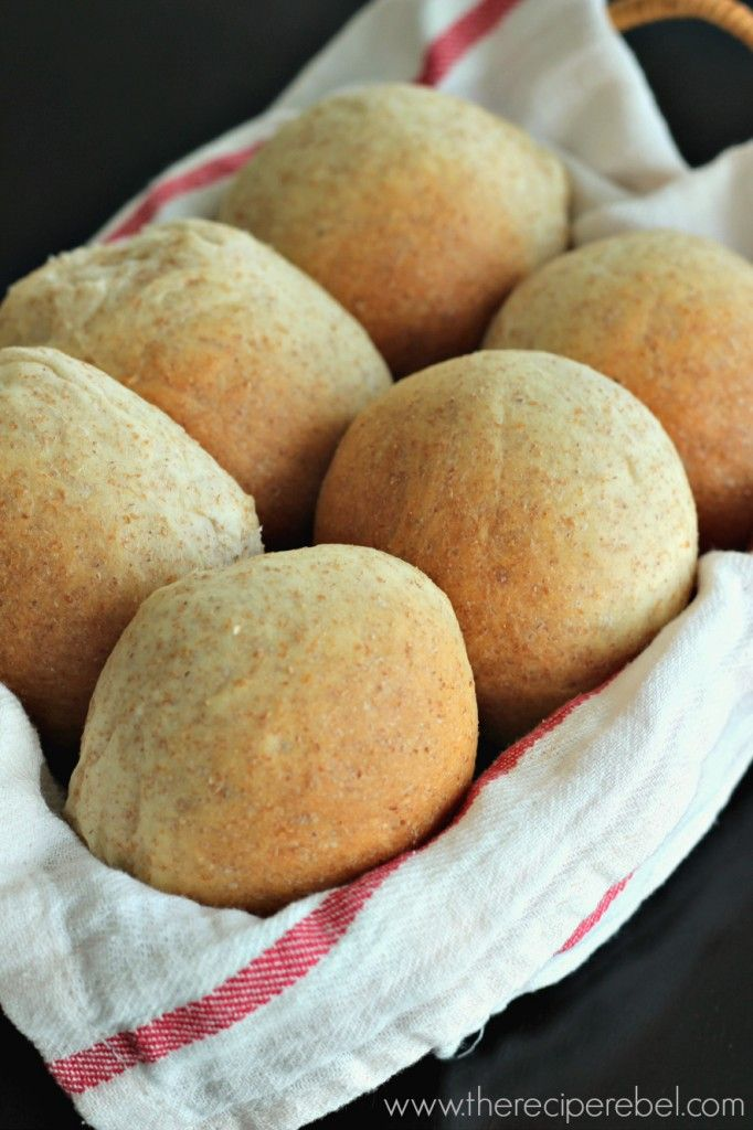Buttery (Whole Wheat) Bread Machine Rolls -- perfect every time!
