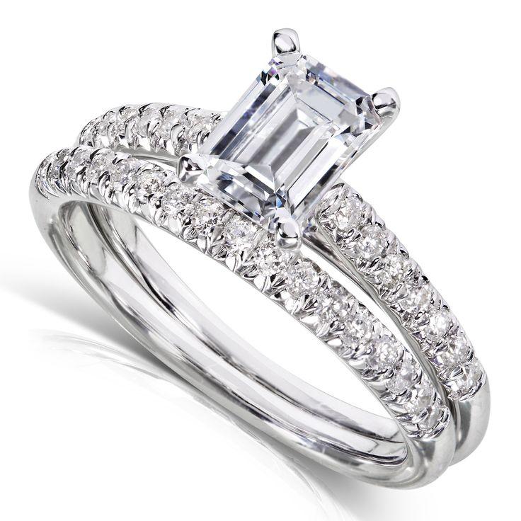 Двойное кольцо - модные тенденции в ювелирном искусстве 2017. Бриллианты в белом золоте от Time of Diamonds. #TimeOfDiamonds #DiamondRing