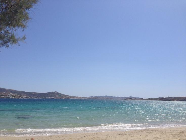 Beach on Paros Island