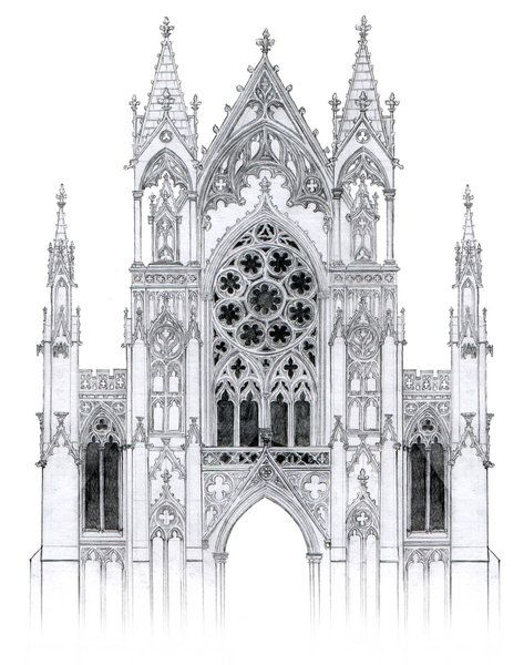 Line Art Rochdale : Best images about gothic architecture on pinterest