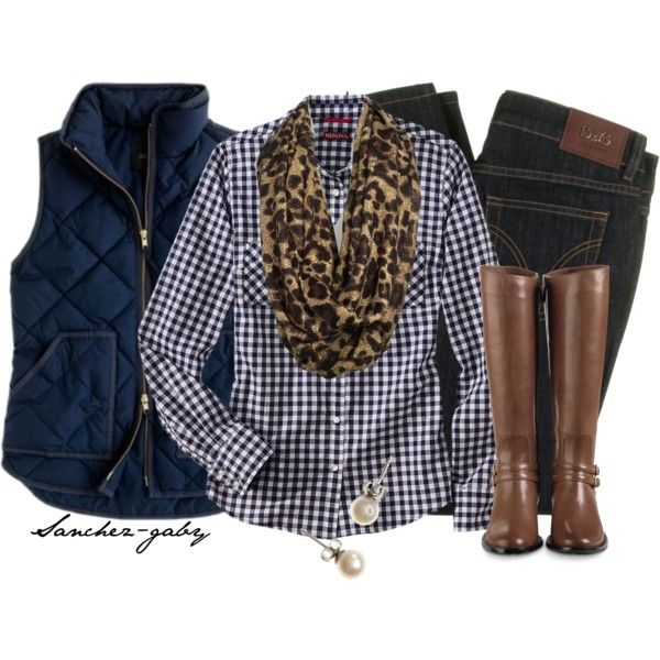 Leopard & Plaid ~ because leopard and anything makes me happy