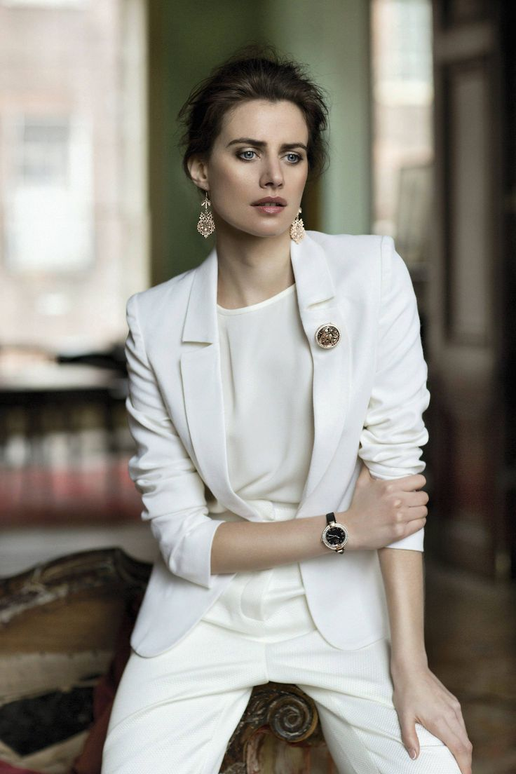 Jacket, €485, Umit Kutluk, Arnotts. T-shirt, €92, Zoe Carol, Lola Rose. Pants, €350, Natalie B Coleman. Earrings, €35; brooch, €40; watch, €85, all Guinness by Newbridge Silverware Collection  Photography by Eilish McCormick, Styling by Roxanne Parker, Fashion edited by Constance Harris