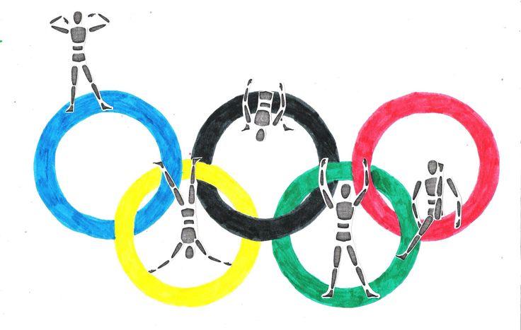 Olümpiarõngad ja figuurid (Lisete)