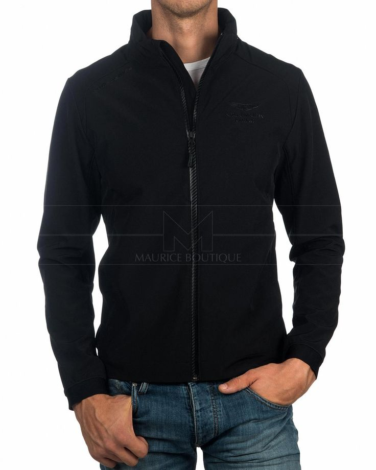 HACKETT © Aston Martin - Soft Shell Jacket - Black | BEST PRICE