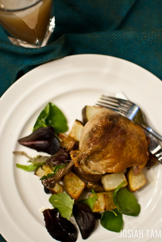 Confit of Duck with Rustic Potatoes | Gurmee Collection | Pinterest ...