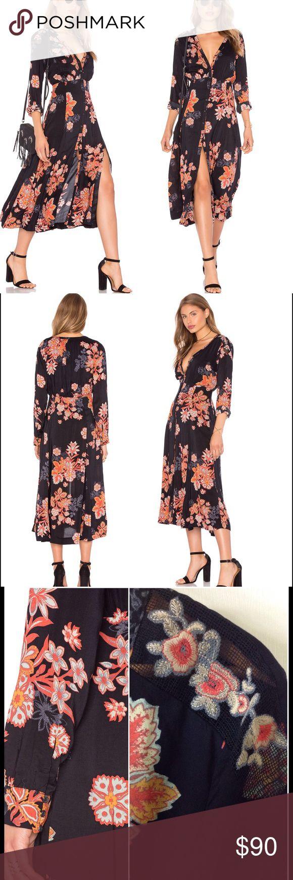 Selling this People Print Dress-Miranda on Poshmark! My username is: aniabrands. #shopmycloset #poshmark #fashion #shopping #style #forsale #Free People #Dresses & Skirts
