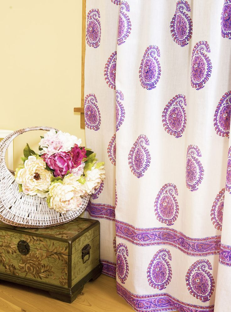 7 best Indian sheer curtain images on Pinterest | Printed curtains ...